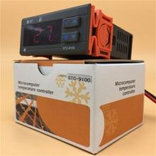 Régulateur de température à double sortie numérique recongélateur Thermostat deux relais sortie LED régulateur de température incubateur numérique
