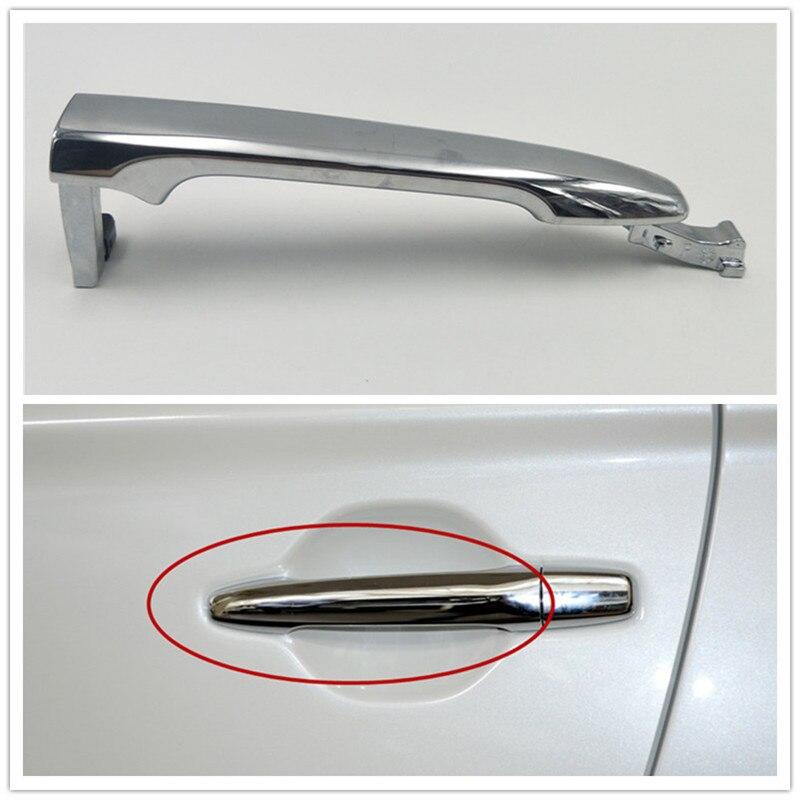 Cafoucs передняя/задняя Левая Правая внешняя дверная ручка для Mitsubishi Outlander 2013-2018 для ASX 2011-2016