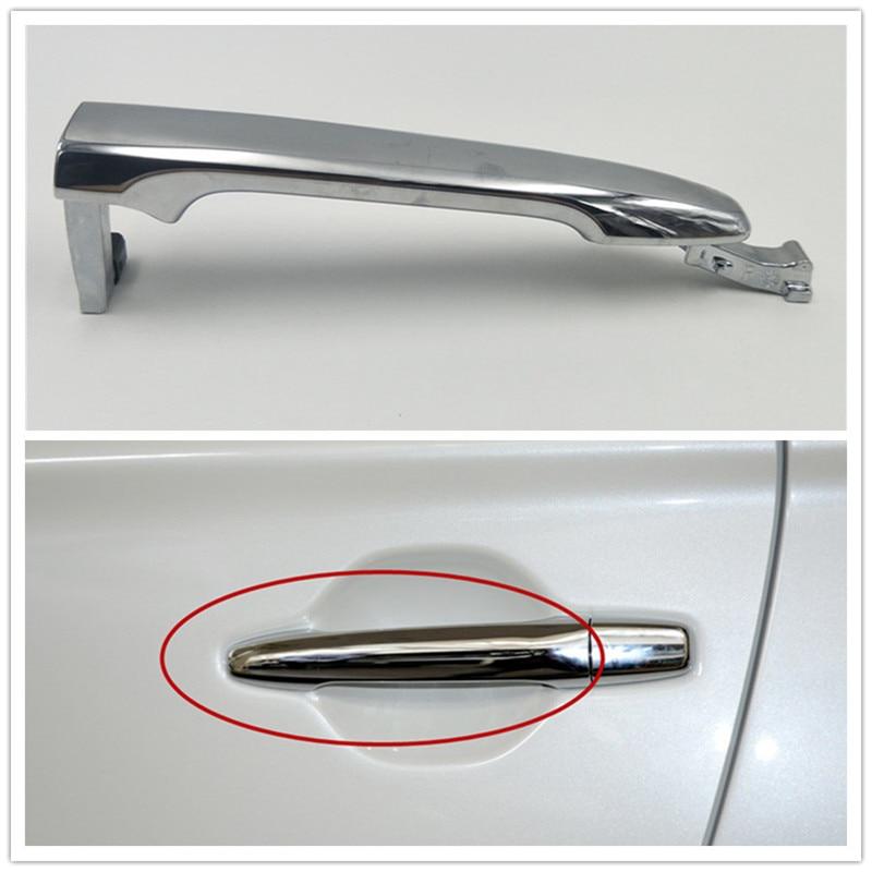 Cafoucs frente/traseira esquerda direita exterior maçaneta da porta para mitsubishi outlander 2013-2018 para asx 2011-2016