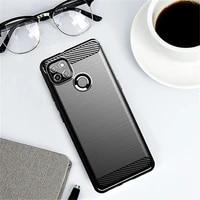 for lenovo k12 pro case bumper rubber silicone carbon fiber cover for lenovo k12 pro phone case for lenovo k12 pro case 6 8 inch