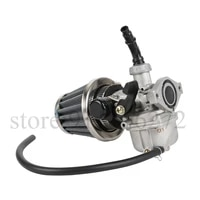 the new durable pz19 19mm motorcycle dirt bike with air filter carburetor for 50 70 90 110cc atv quad 4 wheeler