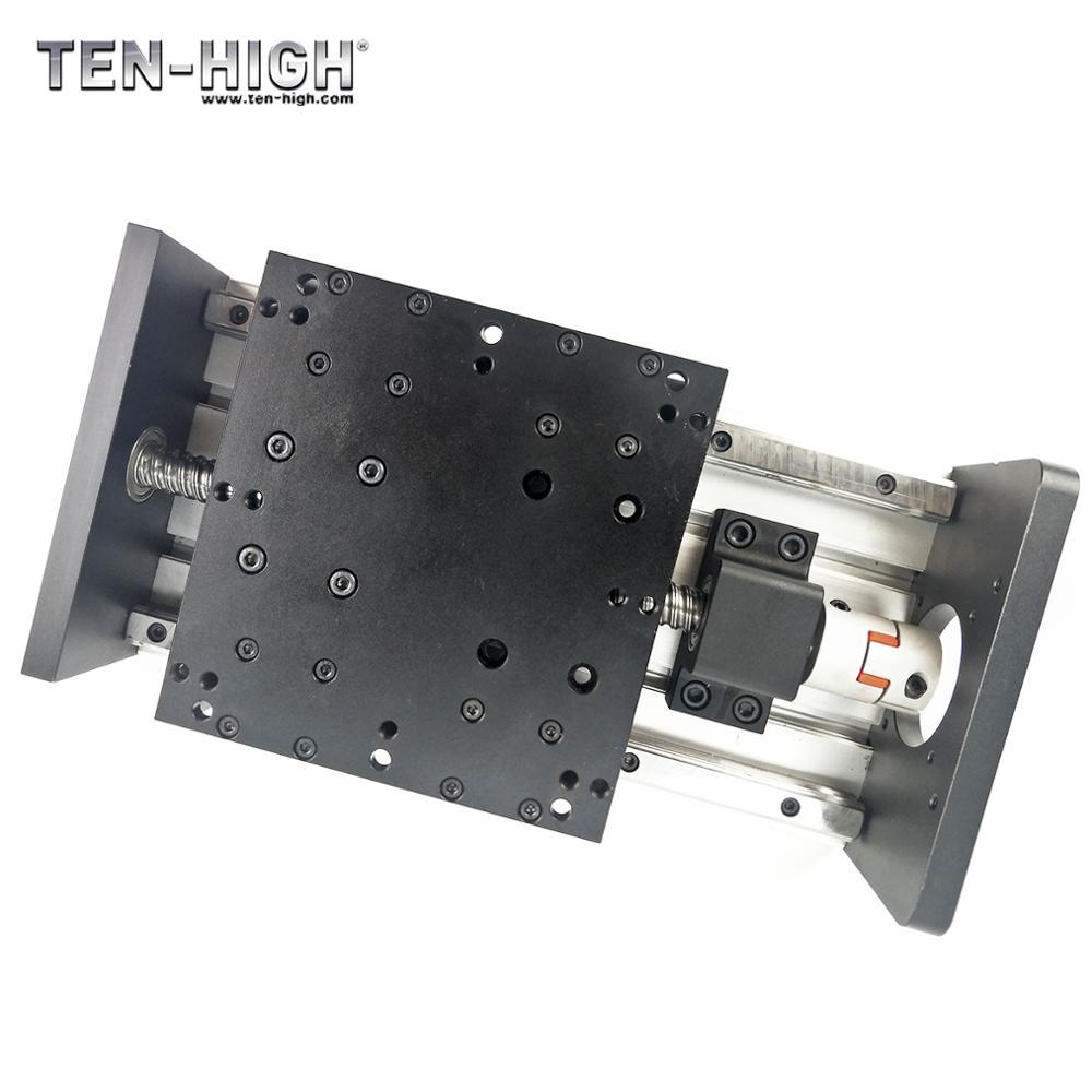Gx-150 عالية تحميل الخطي وحدات ل CNC الخطي أدلة مزدوجة السكك الحديدية + مزدوجة النقل + الكرة المسمار + موتور