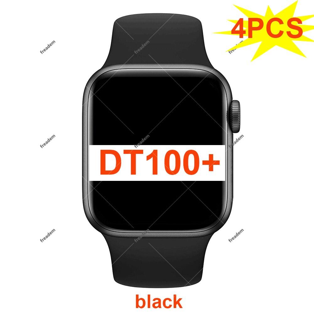 4 قطعة DT100 + ساعة ذكية