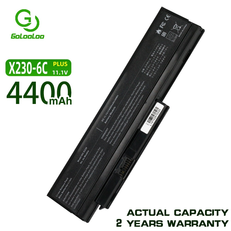 Golooloo 11.1V بطارية كمبيوتر محمول لينوفو ثينك باد X230 X230i X230s 45N1025 45N1024 45N1028 45N1029 45N1020 45N1021