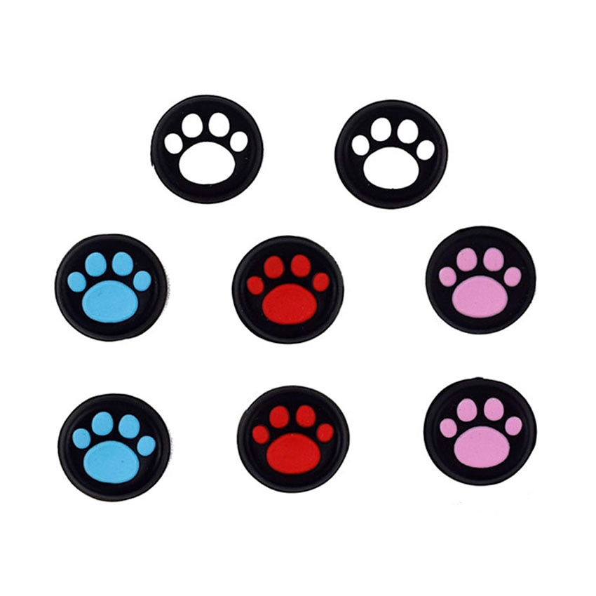 ac power charger for ps vita for sony playstation psv 2000 model pch 2000 a1 4pcs Cute Cat Paw Analog Thumb Stick Grip Cover Protective Rocker Caps For Sony PlayStation Psvita PS Vita PSV 1000 2000 Slim