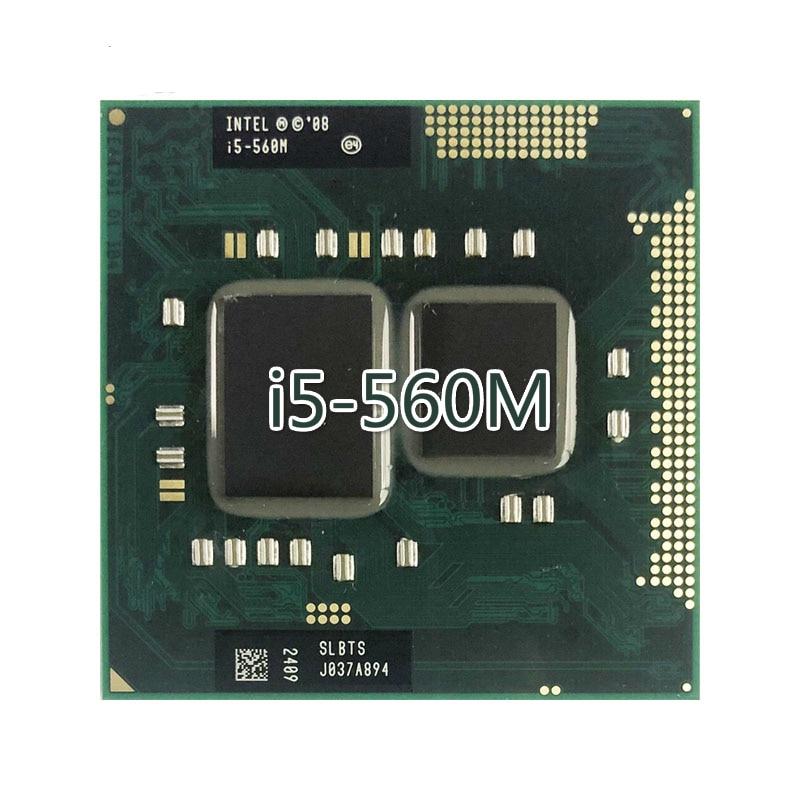 Процессор Intel Core i5 560M i5 560M SLBTS 2,6 ГГц двухъядерный четырехпоточный процессор 3 Вт 35 Вт Разъем G1 / rPGA988A Компьютерные кабели и разъемы      АлиЭкспресс