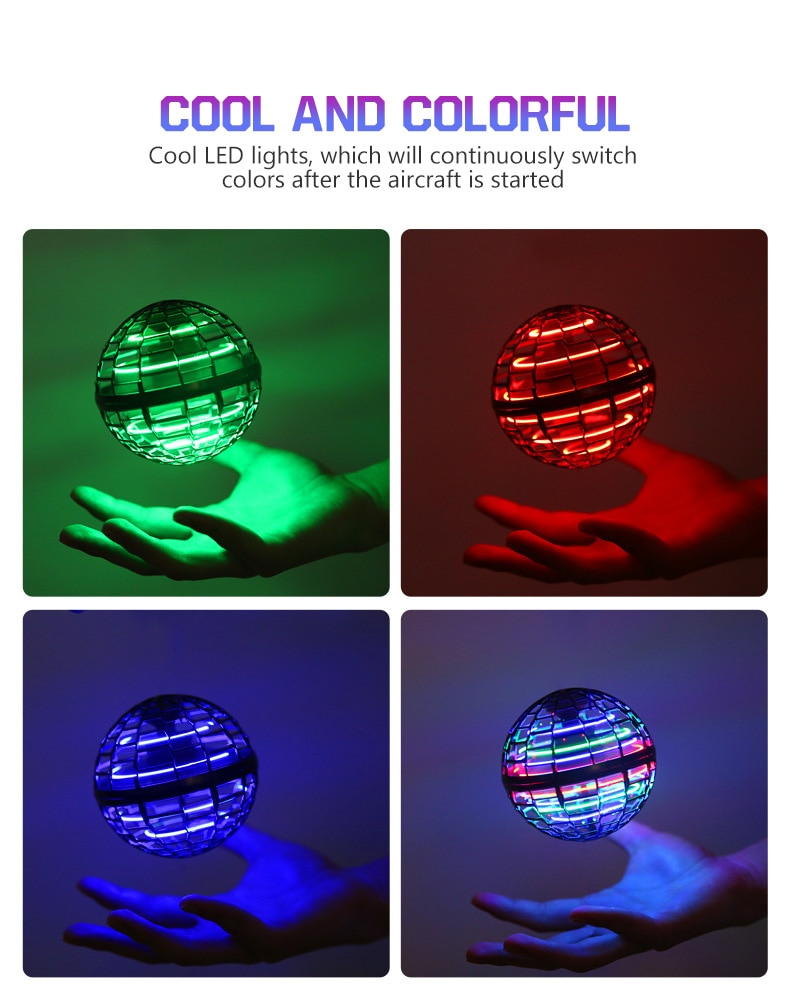 Fidget Toys Anti Stress Toy Set Relief Gift for Adults Girl Children Sensory Stress Relief Antistress Toys Magic Ball with Led enlarge