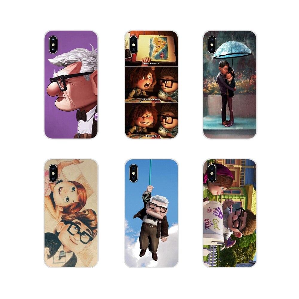 Романтический чехол Carl And Ellie для Apple iPhone X XR XS 11Pro MAX 4S 5C SE 6S 7 8 Plus ipod touch 5 6 прозрачный чехол из ТПУ