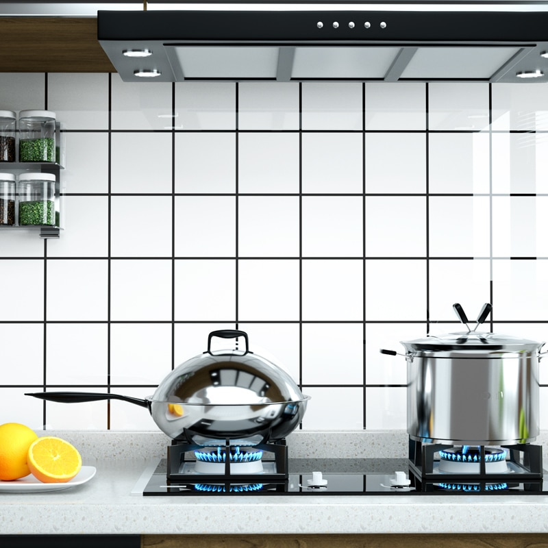 النفط واقية من زيت المطبخ ملصق مكافحة ورق اتصال الأثاث زيت المطبخ ملصقا meuble دي المطبخ meuble دي المطبخ BD50OS