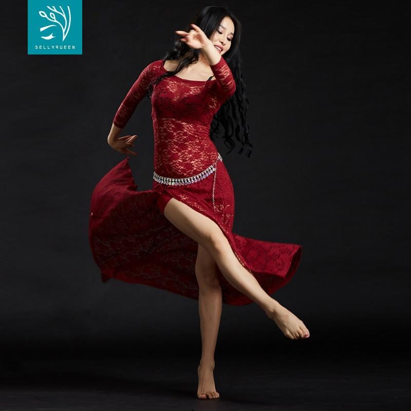Dancers lace belly dance Oriental suit dancing clothing wholesale new