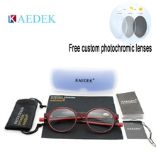 KAEDEK Unisex Adjustable Hanging Neck Eyewear Folding Magnet front Reading Glasses Woman Men Design Diopter Reader Eyeglasses