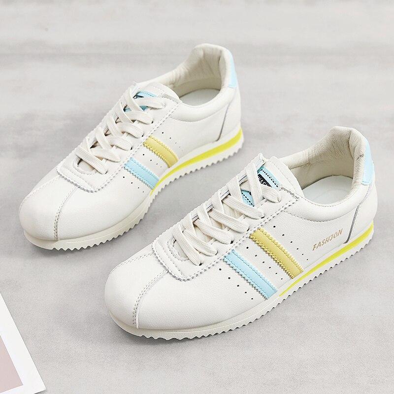 Zapatillas deportivas clásicas a la moda de verano para mujer, zapatos deportivos planos transpirables económicos, zapatillas deportivas para mujer