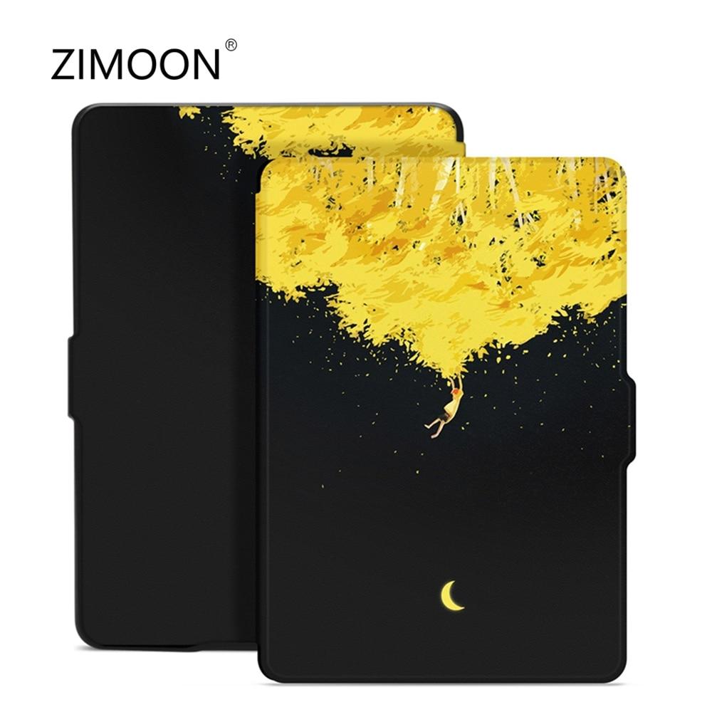 Print Cover For Amazon Kindle Paperwhite 1/2/3 Van Gogh Design Skin Auto Wake Up/Sleep 6 Inch E-book Case