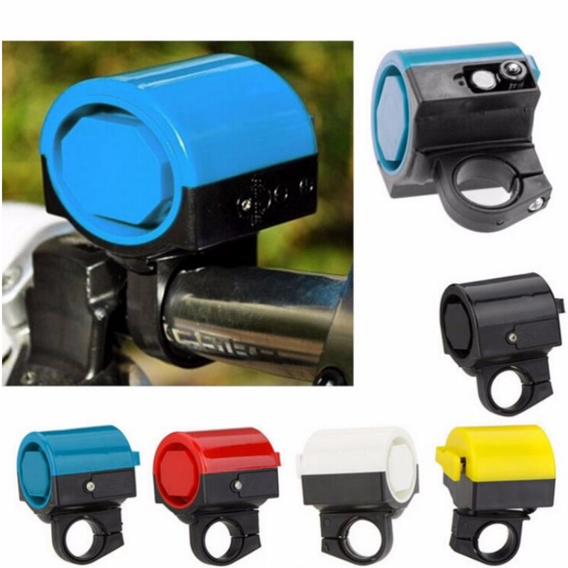 MTB Road Bicycle Bike Electronic Bell Loud Sound Horn Cycling Hooter Siren Holder Free Shipping 1set tone sound car emergency siren horn emergency amplifier hooter 12v 100w