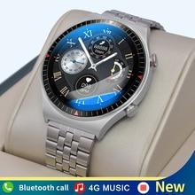 Reloj inteligente deportivo para hombre, dispositivo con memoria 4G, Bluetooth, llamadas, TWS, grabación completamente táctil, T_7