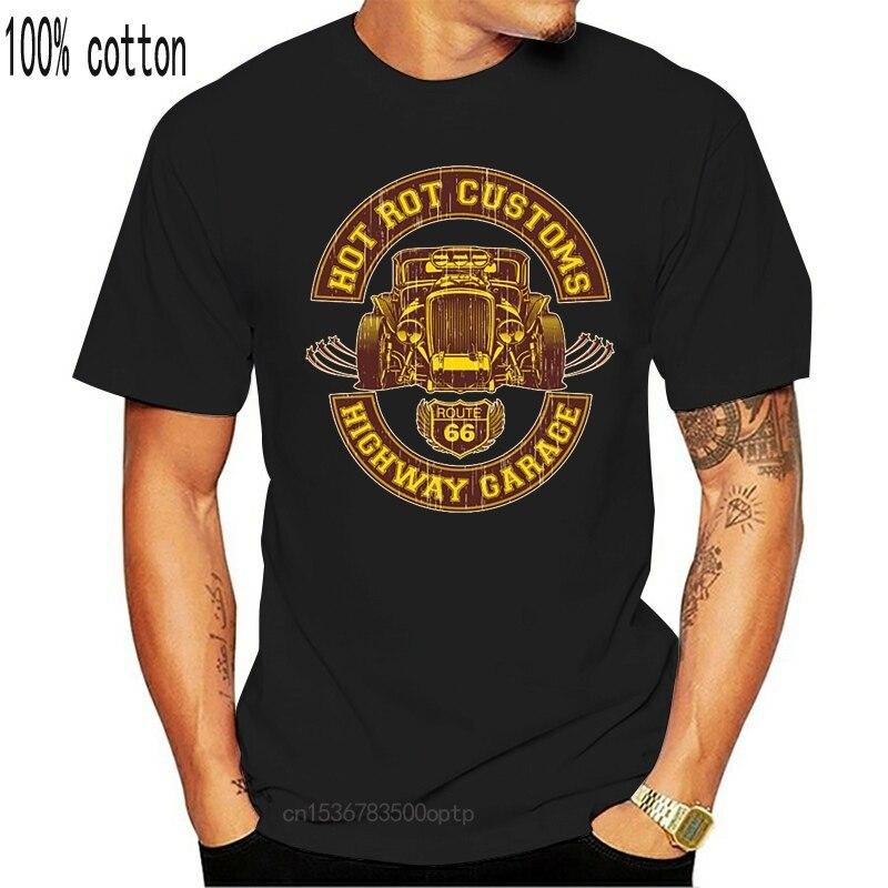 Camisa- Hot Rod Garage - Camiseta USA Camiseta informal para Big Block,...