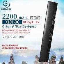 Golooloo 11.1 v 2200 mah 3 셀 블랙 노트북 배터리 아수스 A31-X101 A32-X101 eee pc x101 x101c x101ch x101h