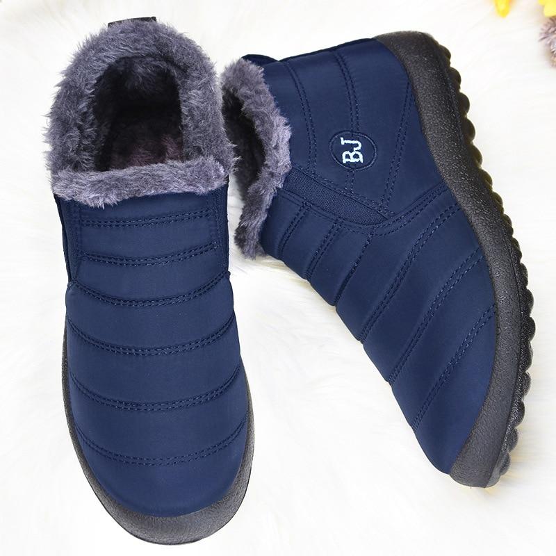Men's sneakers Winter Men Casual Shoes Male Warm Winter Shoes For Men Loafers Unisex Sneakers Winter Fur Short Shoes Man loafers