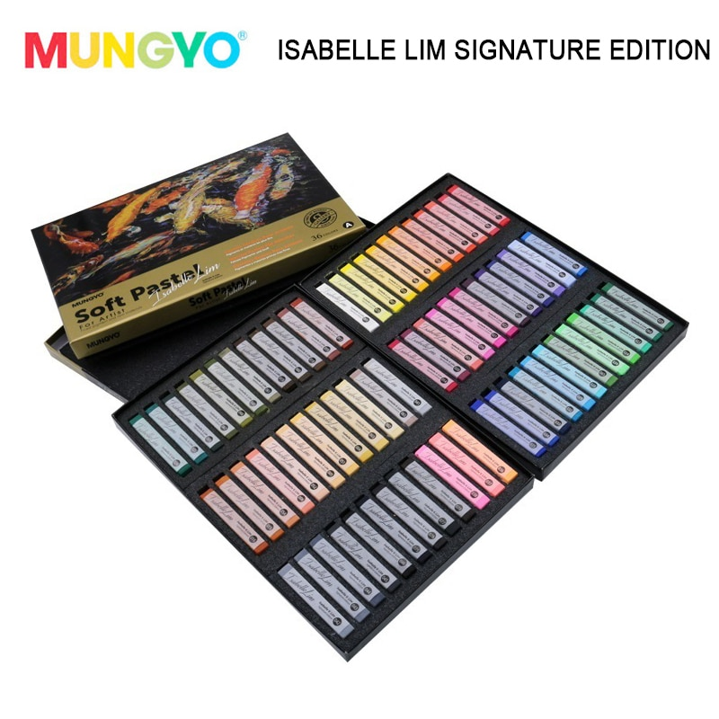 MUNGYO 72colors MPV-72ISA Isabelle v. Lim signature edition Artists' soft pastels Finest pigment and raw materials