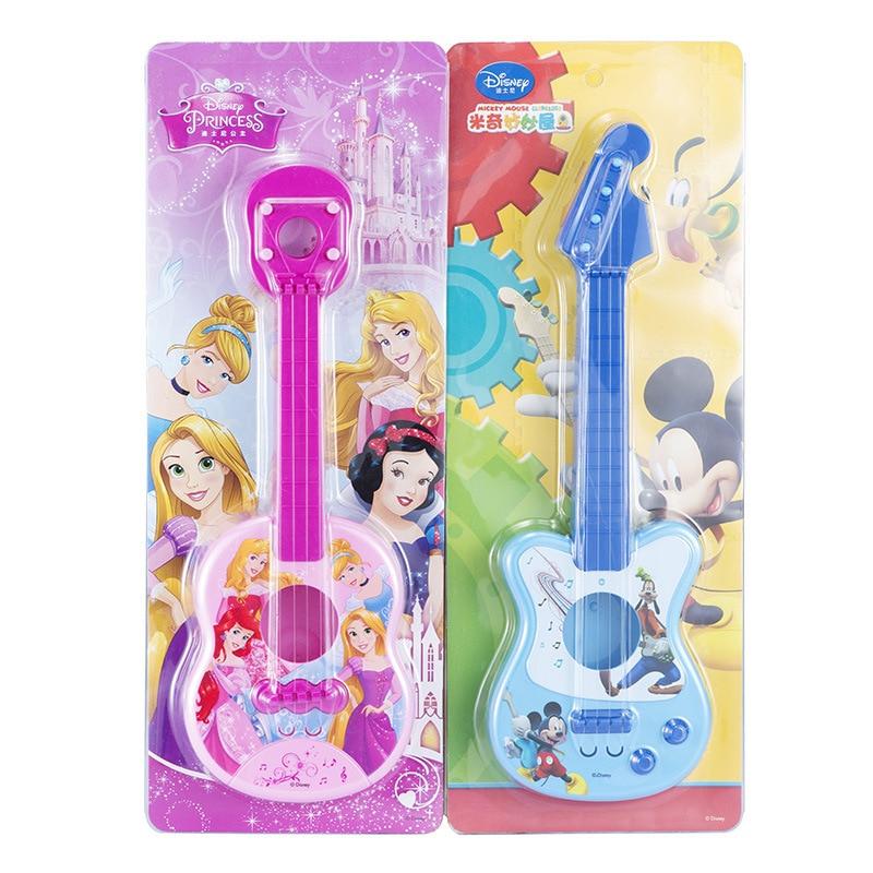 45cm New Genuine Disney Frozen Princess  Mickey violin Guitar Education Children Musical Instruments Toys Children Birthday Gift
