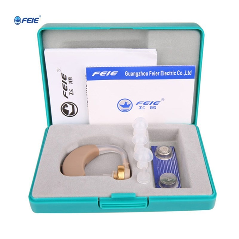 Medical Earphone Super Power Sound Enhancer Hearing Aids for the Children young adult Old men Deaf Hearing Loss S-138