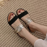 women slippers patchwork summer slides outdoor beach flat 2021 fashion casual female ladies shoes zapatos de mujer sandals
