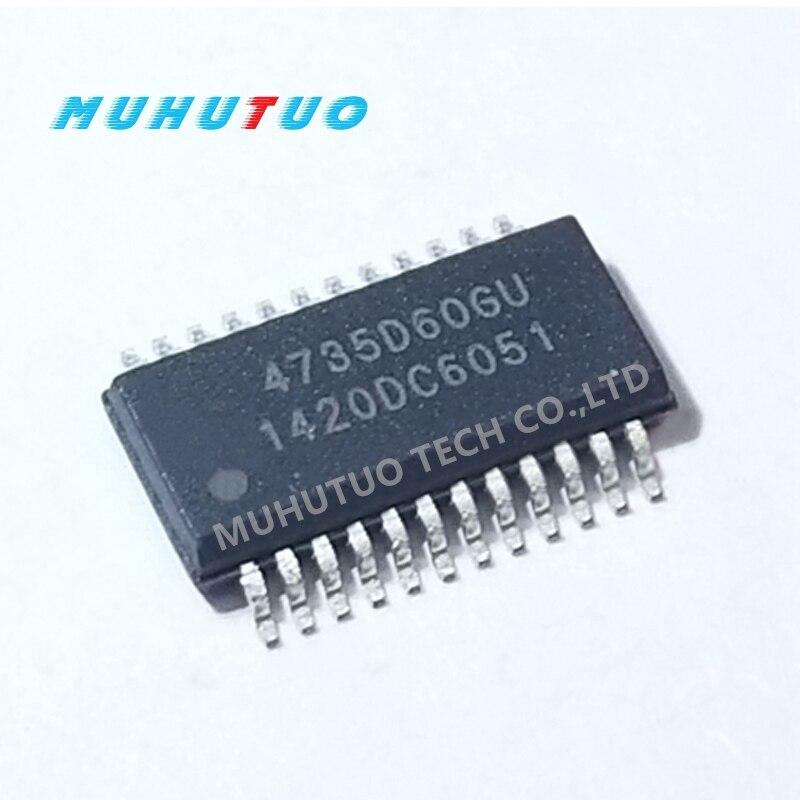 5PCS New original SI4735-D60-GUR 4735D60GU SI4735-D60-GU SSOP24