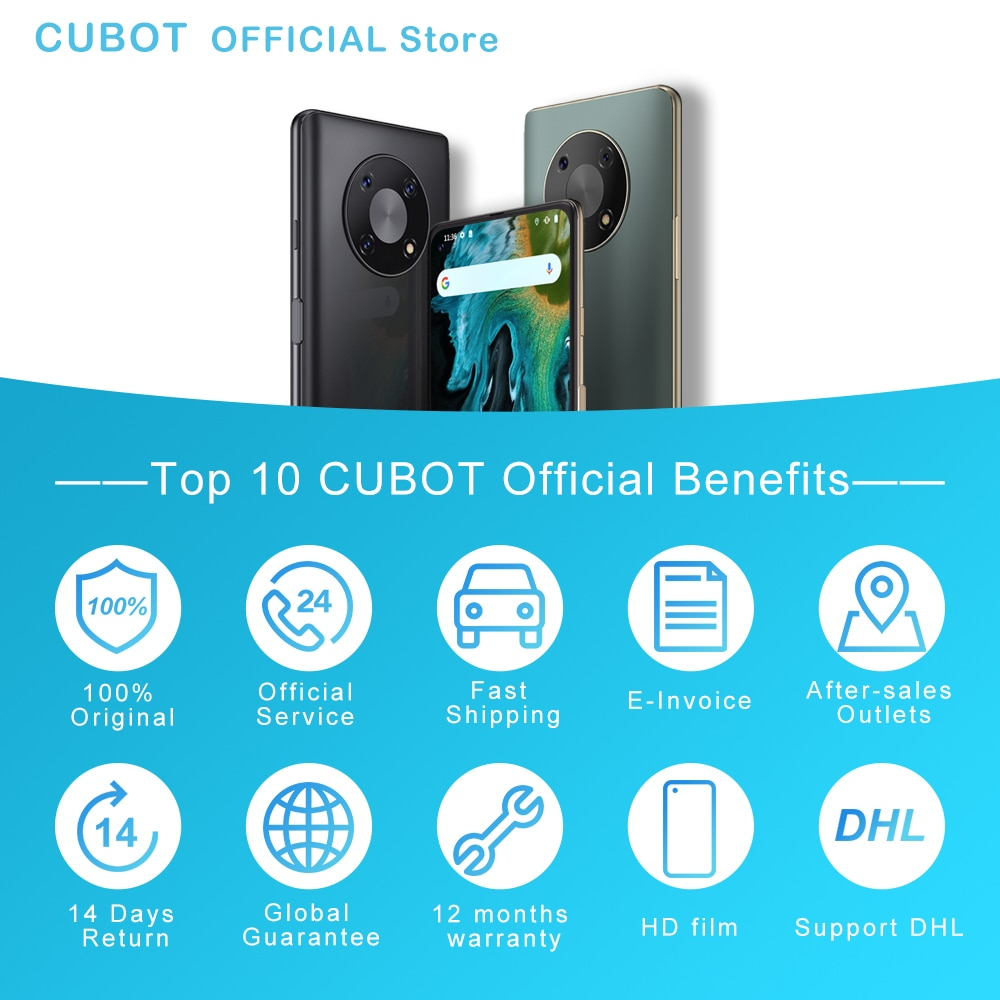 [World Premiere] Cubot MAX 3 Smartphone 6.95