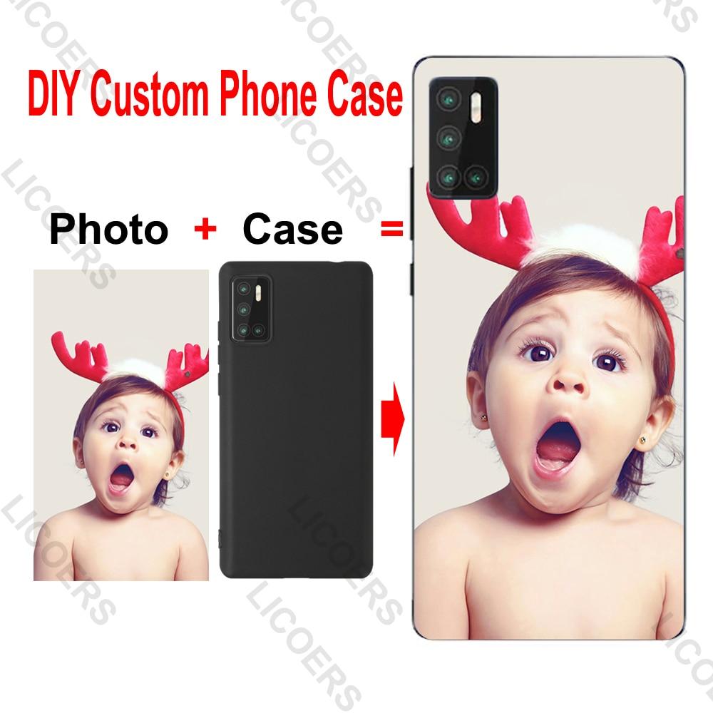 Custom Case for Samsung Galaxy A21S A9 A8 A7 2018 S7 edge S8 Plus A70E A6S A8S A9S A10 A20S DIY Pers