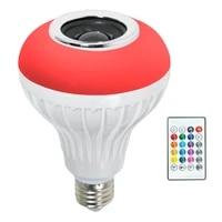 LED Wireless Light Bulb Speaker  RGB Smart Music Bulb  E26 Base Color Changing