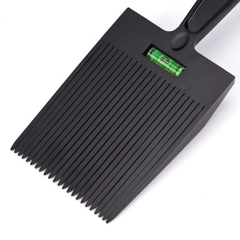 ¡Novedad! Peine de pelo de dientes ancha y plana de corte de pelo teñido de peluquero herramienta de peluquería SMR88