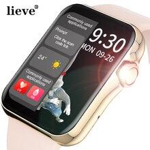Women Smart Watch Full Touch HD Screen Smart Watch Sport Tracker Bluetooth Calling Heart Rate BP ECG