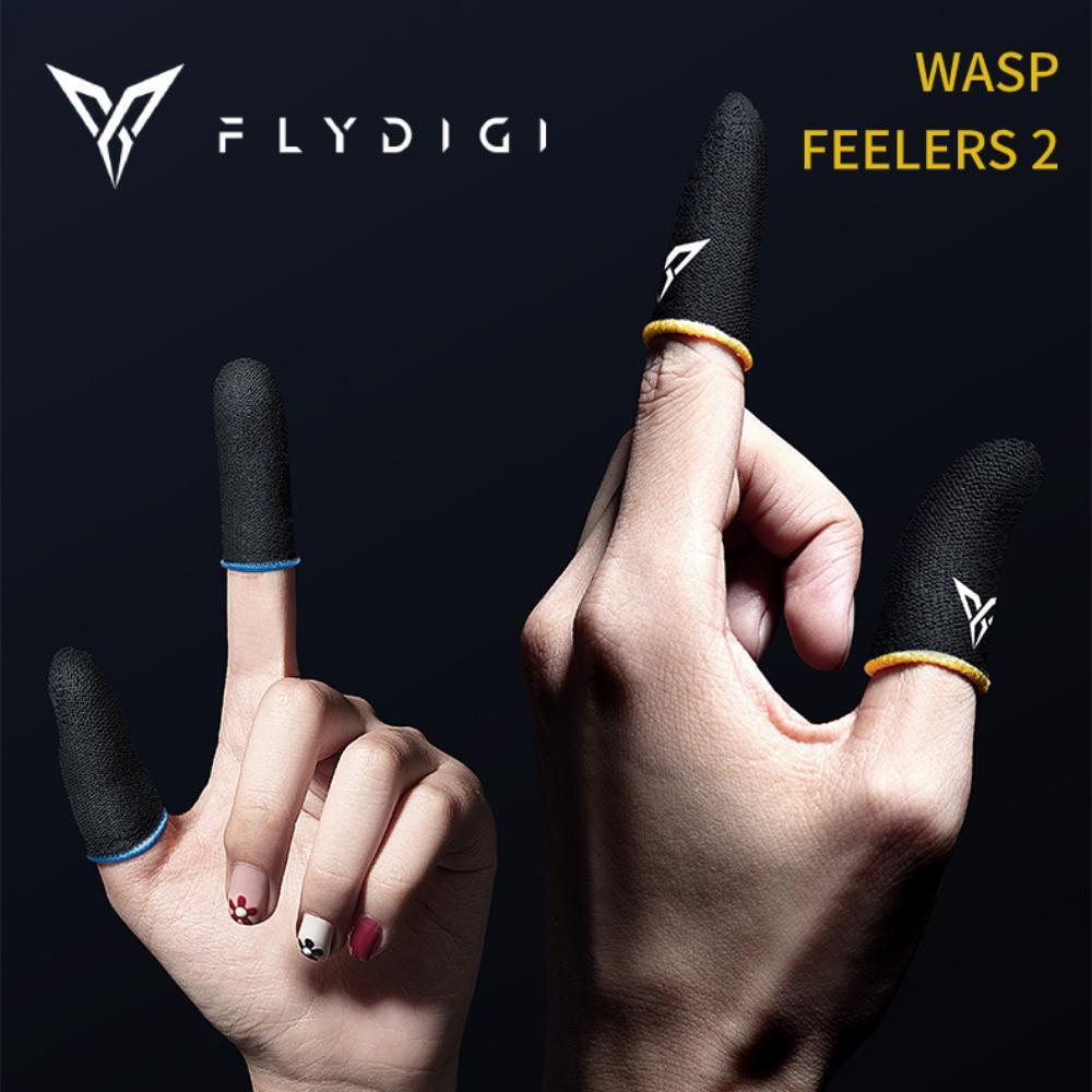 Flydigi دبور جس نبض 2 إصبع الأكمام العرق واقية إصبع غطاء الهاتف المحمول اللوحي PUBG لعبة اللمس شاشة الإبهام ل pubg لعبة