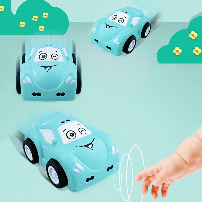 RC Intelligent Sensor Remote Control Cartoon Mini Car Christmas Birthday Gift 97BC