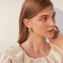 Fashion Vintage Earrings Set For Women Big Geometric Statement Gold Metal Drop Earrings 2020 Trendy