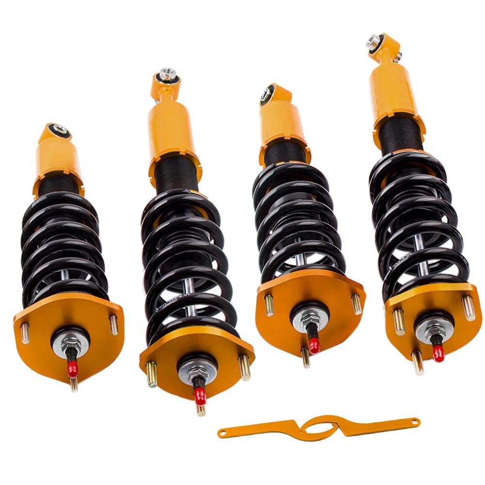 24 amortiguadores de suspensión Coilover ajustables para Lexus IS 300 01-05 JCE10 para Toyota ALTEZZA RS 200 tipo-rs 01-05