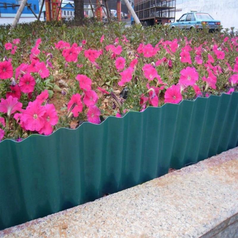 Valla de jardín patio césped cercado corrugado jardín flor planta vegetal camino patio Decoración