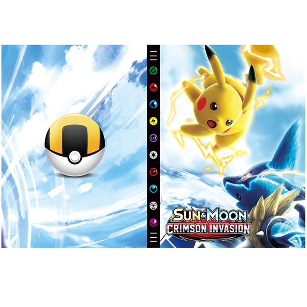 Новинка-альбом-для-карт-большой-емкости-книга-для-покемона-Лидер-продаж-держатель-для-игральных-карт-альбом-для-карт-pokemon-432-игрушки-под