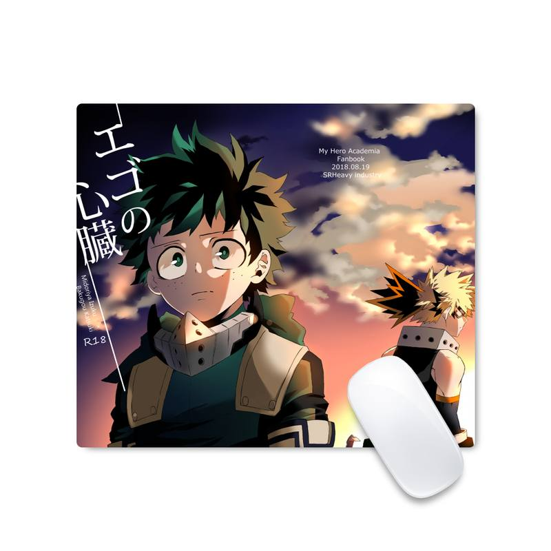 My hero academia Computer Desk Keyboard Table Protect Game Office Work Square Mouse Mat pad Non-slip Laptop Cushion enlarge