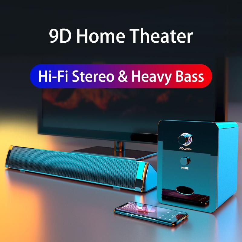Home Theatre System Soundbar TV Subwoofer Speaker Bluetooth Caixa De Som Para PC Sound Bar Boombox C