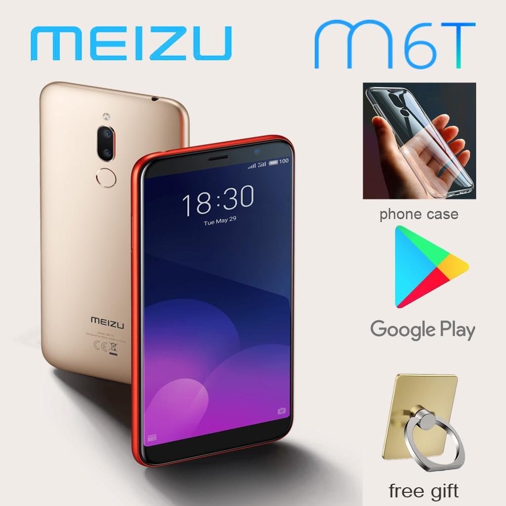 Global version 98%New Meizu M6T Smartphone 4G 32G 5.7'' full screen Rear dual camera MT6750 Super mBack ingerprint payment