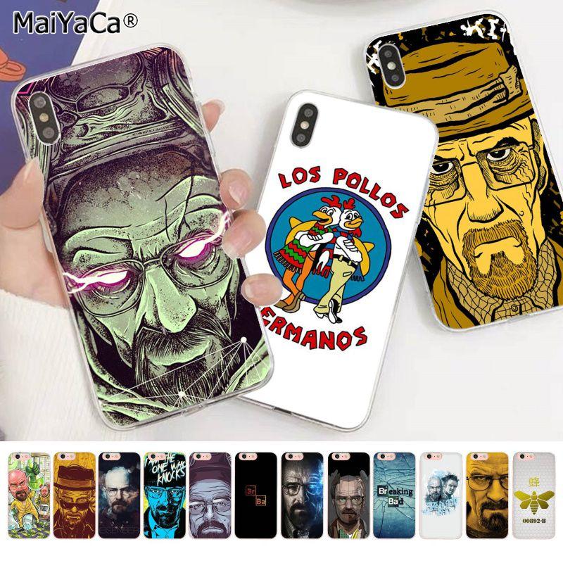 Красивый чехол для телефона MaiYaCa Heisenberg Breaking Bad Painted для iphone SE 2020 11 pro XS MAX 8 7 6 6S Plus X 5 5S SE XR