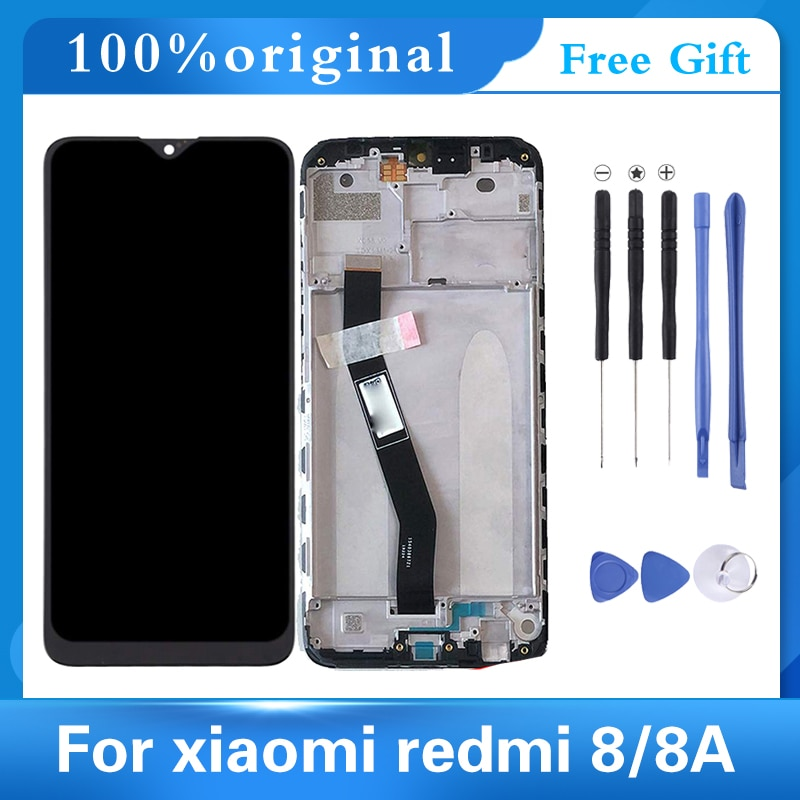 6.22'' Original AAA Quality LCD For Redmi 8A Screen LCD With Frame For Xiaomi Redmi 8 LCD Display Screen With Frame Digitizer original lcd frame for xiaomi redmi 5a lcd display screen replacement for redmi 5a screen digiziter assembly aaa quality