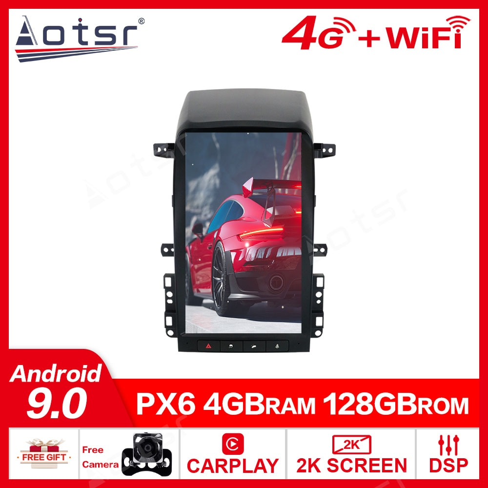 4 + 128G para Chevrolet Captiva 2007 - 2012 reproductor Multimedia Android...
