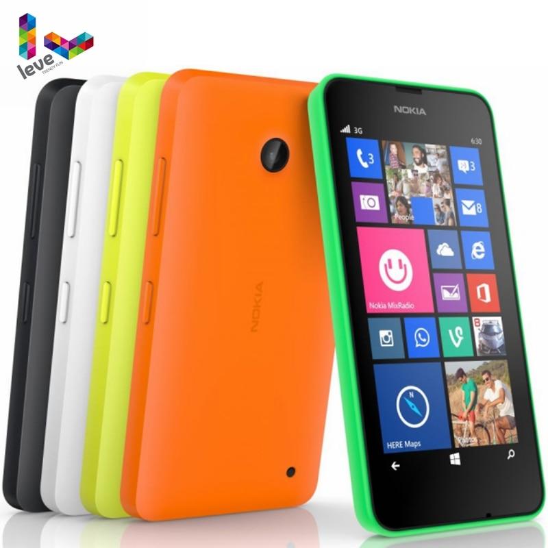 -Teléfono Nokia Lumia 635 Original, móvil con Windows OS, 4,5 pulgadas, cuatro...