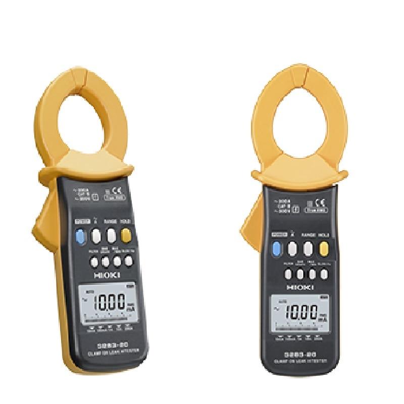 HIOKI 3283 מהדק על דליפת Hitester 1mA כדי 200A AC דליפת זרם קלאמפ Meter עם 10 µA רזולוציה כדי לנתח מעוות צורת גל
