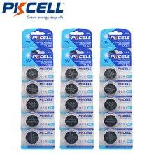 30 Pièces 6 Carte PKCELL CR2325 BR2325 ECR2325 CR 2325 Piles Bouton au Lithium 3V batterie cr2325