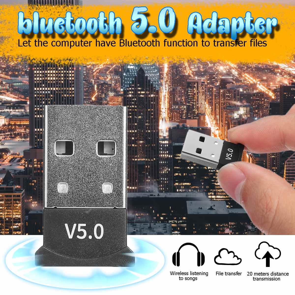 Bluetooth 5,0 USB Adapter für Fenster 7/8/10 für Vista XP für Mac OS X PC Tastatur maus Gamepads Lautsprecher