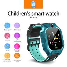 SIM Card 2G Smart Watch LSB Base GSM Locator Touch Screen Tracker SOS for Children Kids Gift Anti-lost samrt watch Video watch