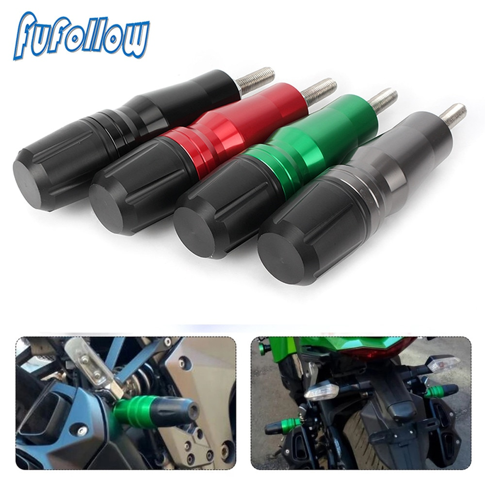 FOR Benelli Leoncino 500 LeonineX TNT 125 135 Jinpeng 502 TRK502 CNC Motorcycle Anti Crash Pads Exhaust Sliders Frame Protector